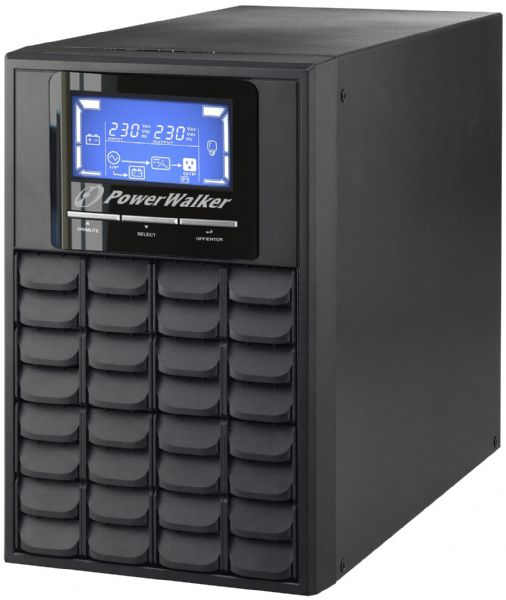 PowerWalker VFI 1000 C LCD/IEC/UK UPS 800W Tower